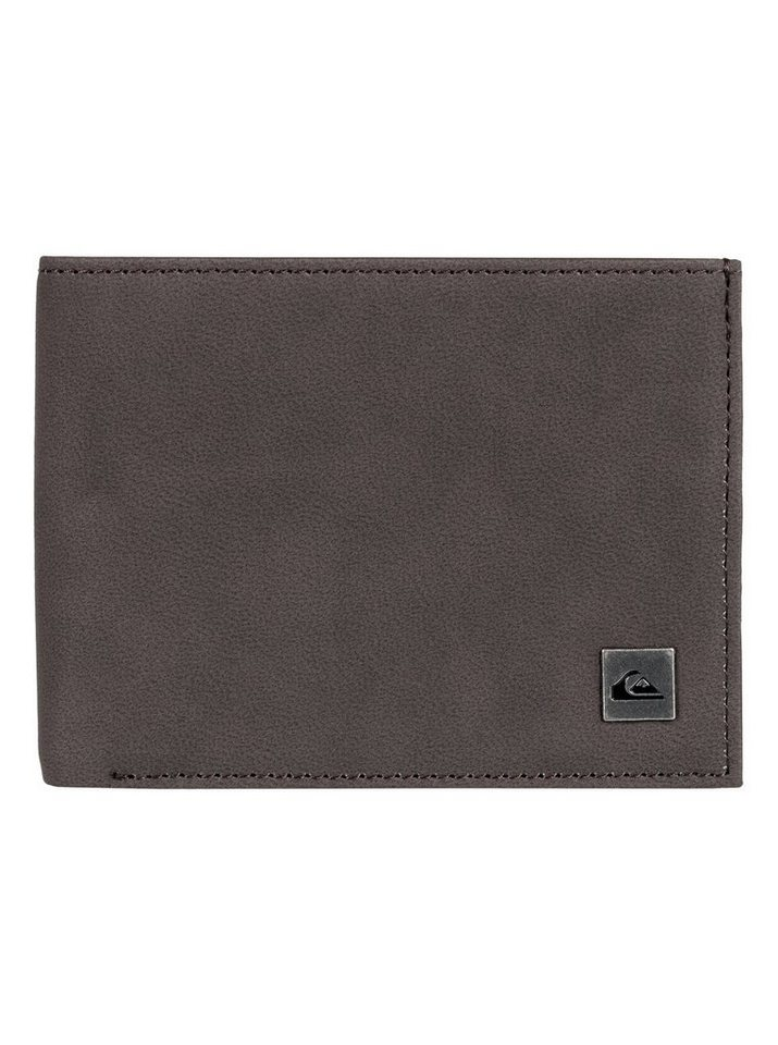 Quiksilver Dreifach faltbares Portemonnaie »Bridgies« | Accessoires > Portemonnaies | Braun | Pu - Metall | Quiksilver