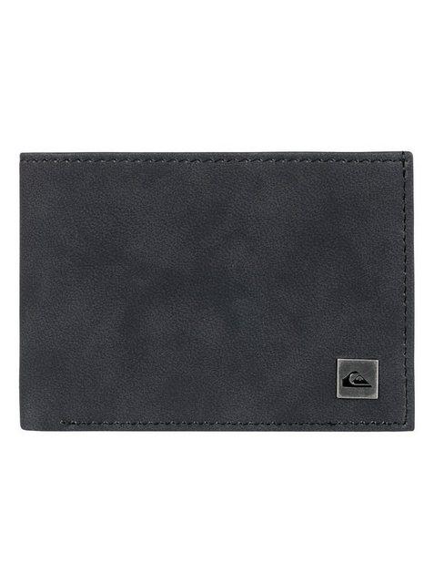 Quiksilver Dreifach faltbares Portemonnaie »Bridgies« | Accessoires > Portemonnaies > Sonstige Portemonnaies | Schwarz | Pu - Metall | Quiksilver