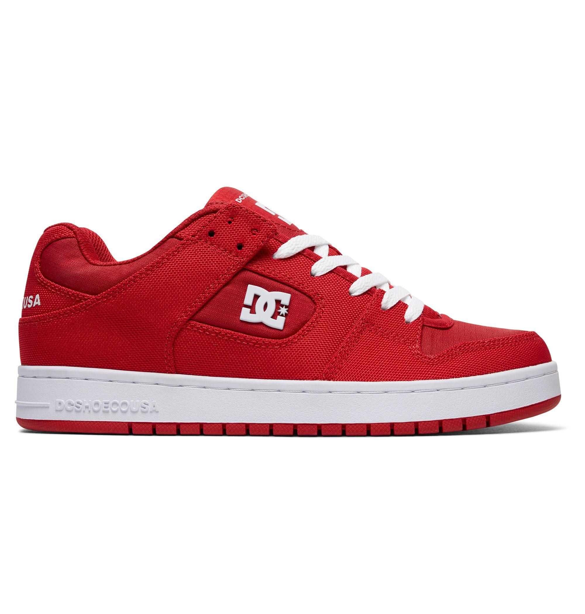 DC Shoes Schuhe Manteca TX SE online kaufen  Red#ft5_slash#white