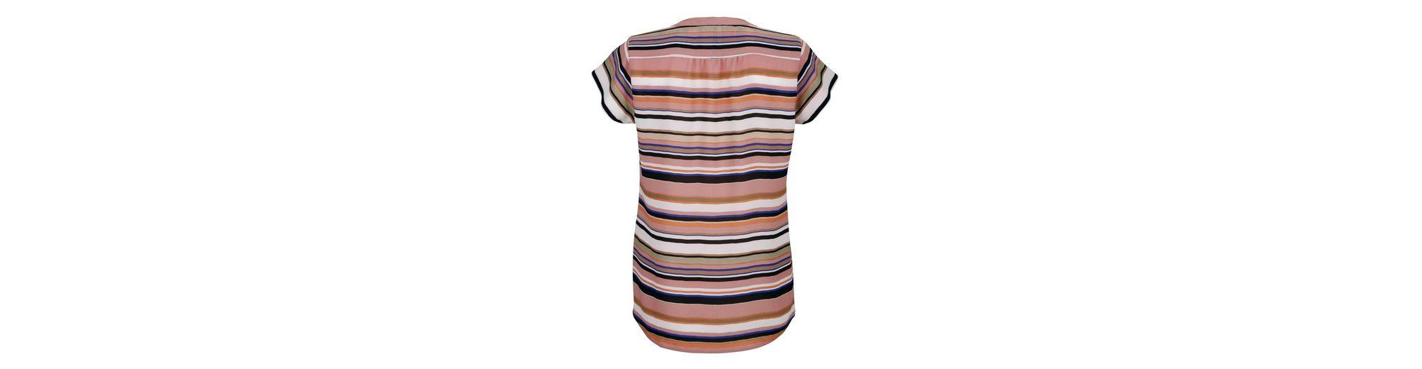 Alba Moda Blusenshirt in modischem Streifendessin Steckdose Authentisch Sy0JnjC