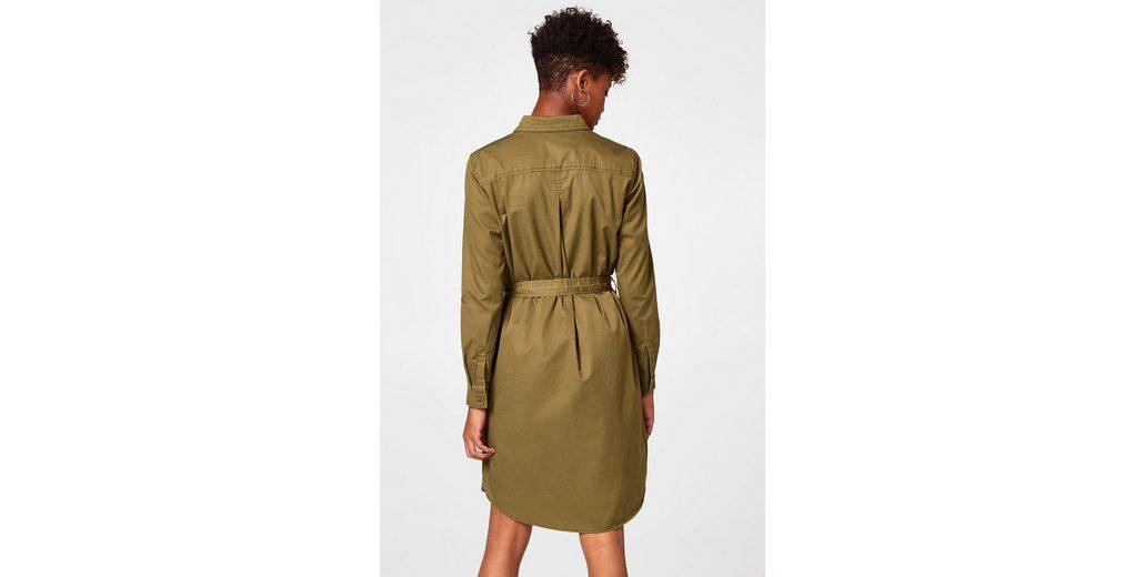 Einen Günstigen Preis ESPRIT Hemdblusen-Kleid aus 100% Baumwolle Freies Verschiffen Wahl Spielraum Perfekt Billig Original 7VsWJV3