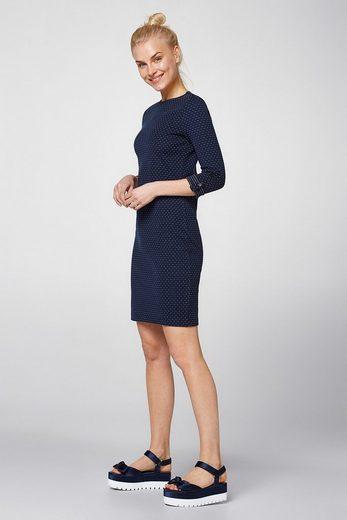 EDC BY ESPRIT Kleid aus Doubleface-Jersey