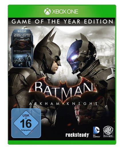 Warner Games XBOX One - Spiel »Batman: Arkham Knight GOTY«