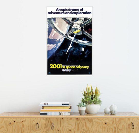 Posterlounge Wandbild »2001: Odyssee im Weltraum«