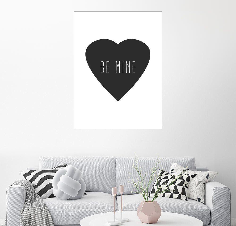 Posterlounge Wandbild - Finlay and Noa »Be Mine«