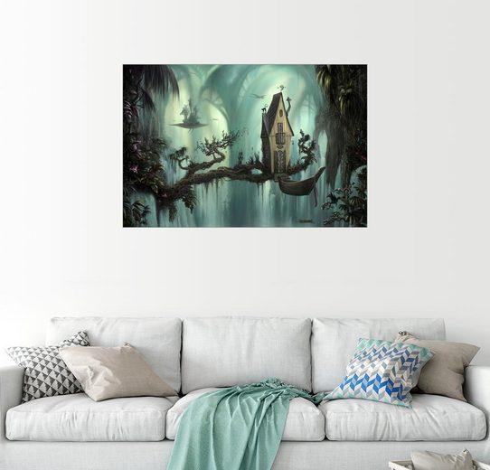 Posterlounge Wandbild - Susann H. »Haus in der Kathedrale«