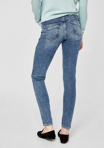 s.Oliver RED LABEL Shape Superskinny: Button Fly-Jeans