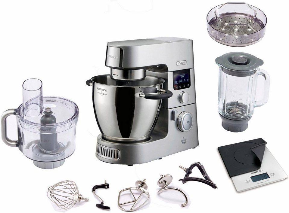 Kenwood Kuchenmaschine Mit Kochfunktion Cooking Chef Gourmet Kcc9060s 1500 W 6 7 L Schussel Inkl Zubehor Im Wert Von Uvp 434 94 Online Kaufen