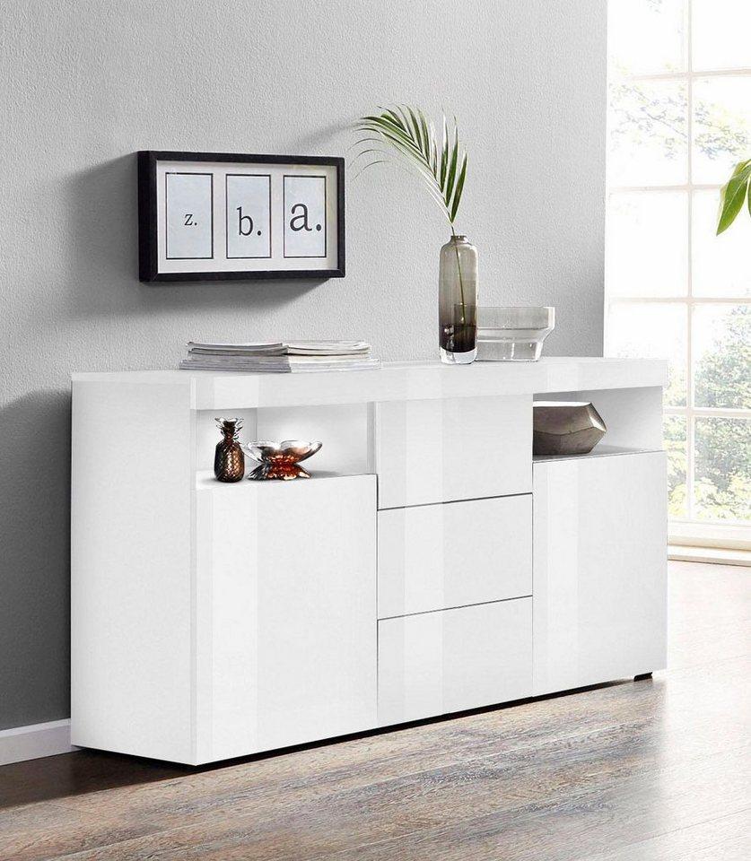 Borchardt Möbel Sideboard Kapstadt Breite 139 Cm Online Kaufen Otto