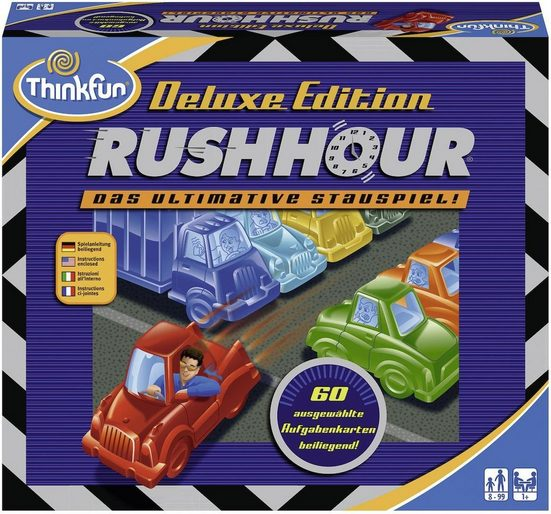 Thinkfun® Spiel, »Rush Hour® Deluxe«