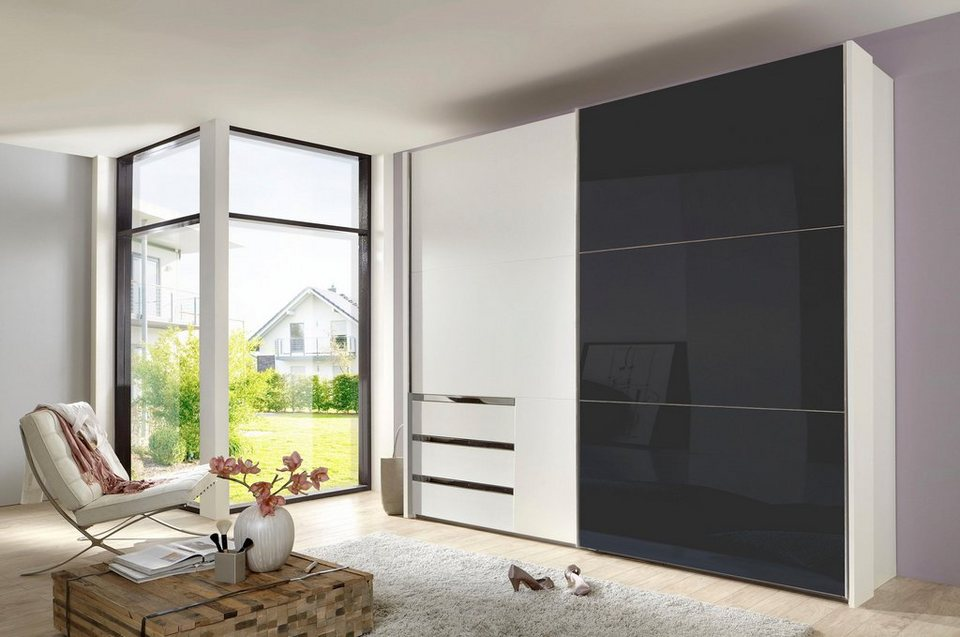 fresh to go schwebet renschrank level mit glast r. Black Bedroom Furniture Sets. Home Design Ideas