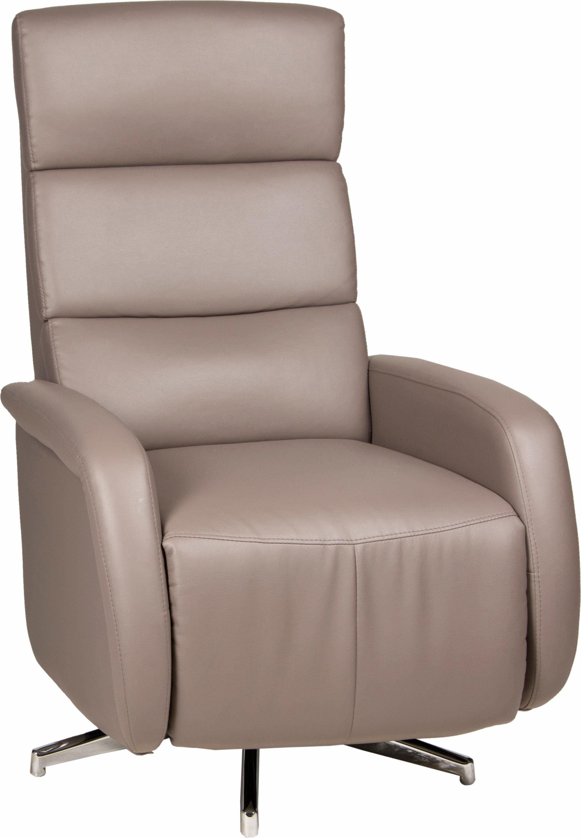 INOSIGN TV-Sessel »Tripoli«, drehbar, mit integrierter Fußstütze