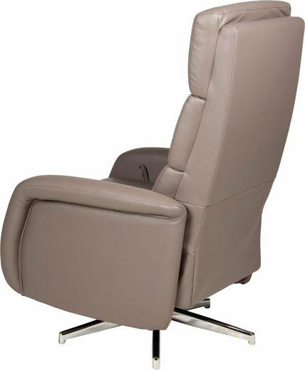 INOSIGN TV-Sessel »Tripoli«  drehbar  mit integrierter Fußstütze