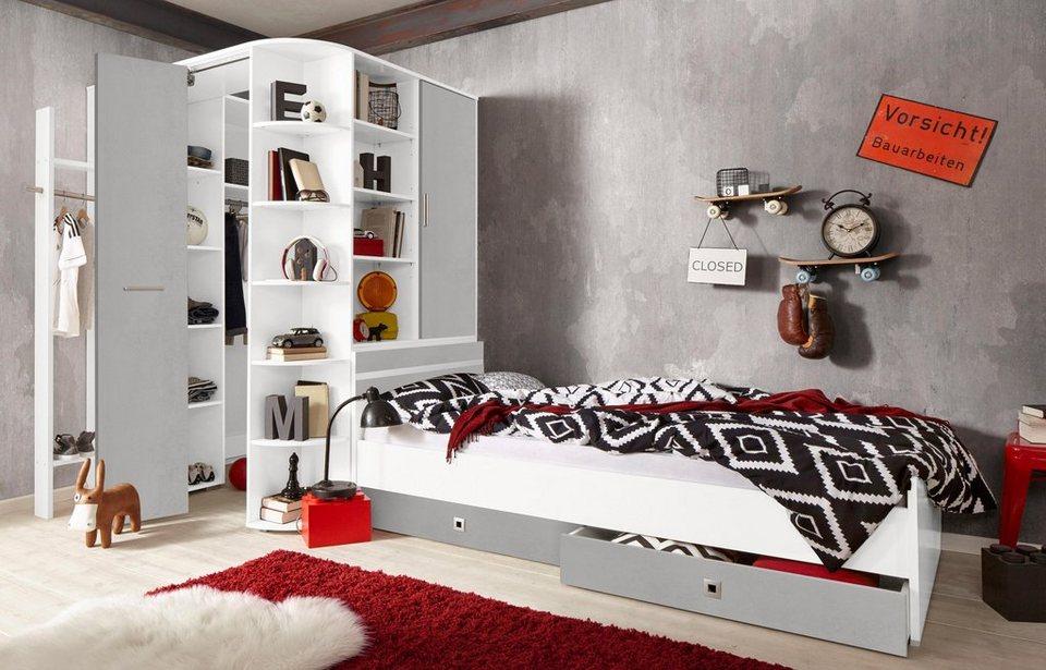 Wimex Jugendzimmer Set Joker Set Aus Eckschrank Garderobe Bett Und 2 Schubkästen Online Kaufen Otto