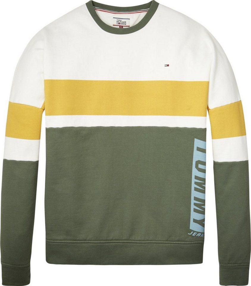 Tommy Jeans Sweater »TJM BOXY BLOCK CN HKNIT L S 22« online kaufen ... 69019d2b4c