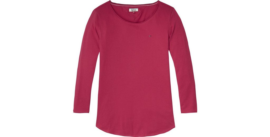 Finish Zum Verkauf Verkauf Verkauf Online Tommy Jeans T-Shirt TJW BASIC CN KNIT 3/4 SLV 30 fYuXXUXV5