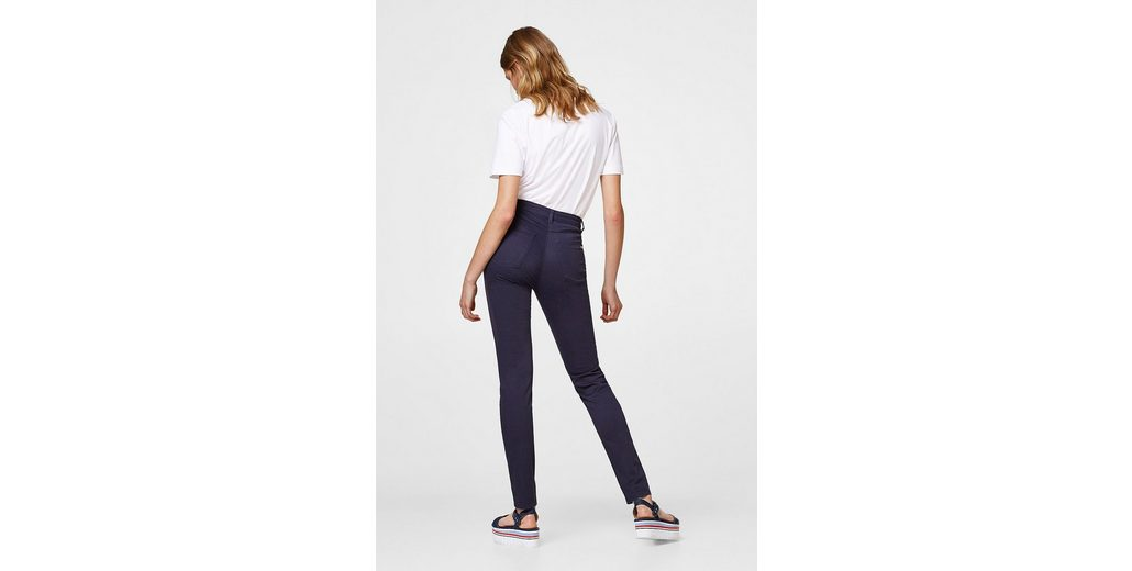 ESPRIT COLLECTION High-Waist-Pants aus softem Stretch-Satin Am Billigsten Starttermin Für Verkauf rwHHIF