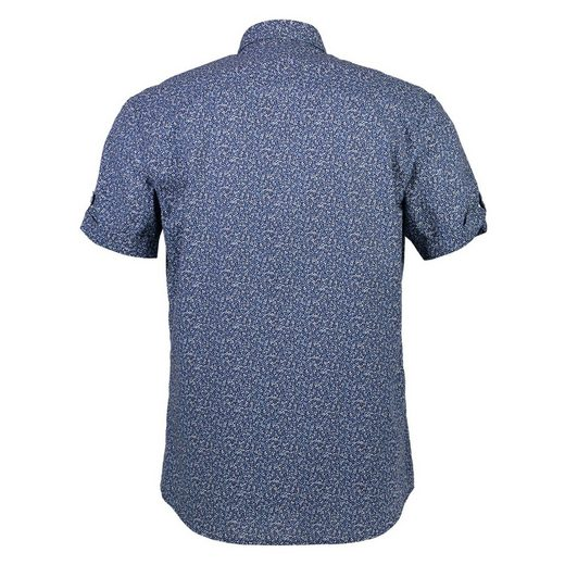 LERROS Kurzarmhemd mit Minimal- Alloverprint