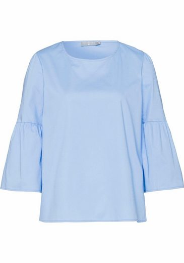 IN LINEA Shirtbluse, mit Volants