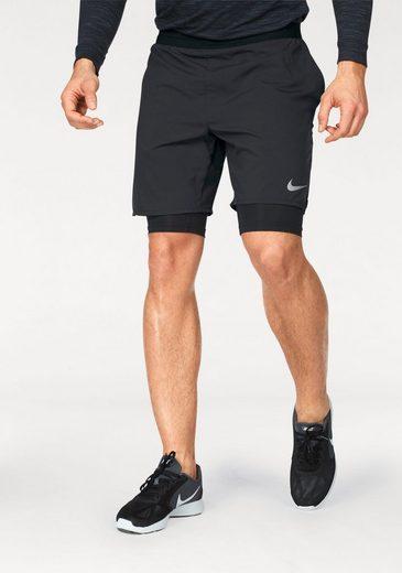 Nike Laufshorts FLEX DISTANCE SHORT 7INCH 2IN1, Mit Innenhose