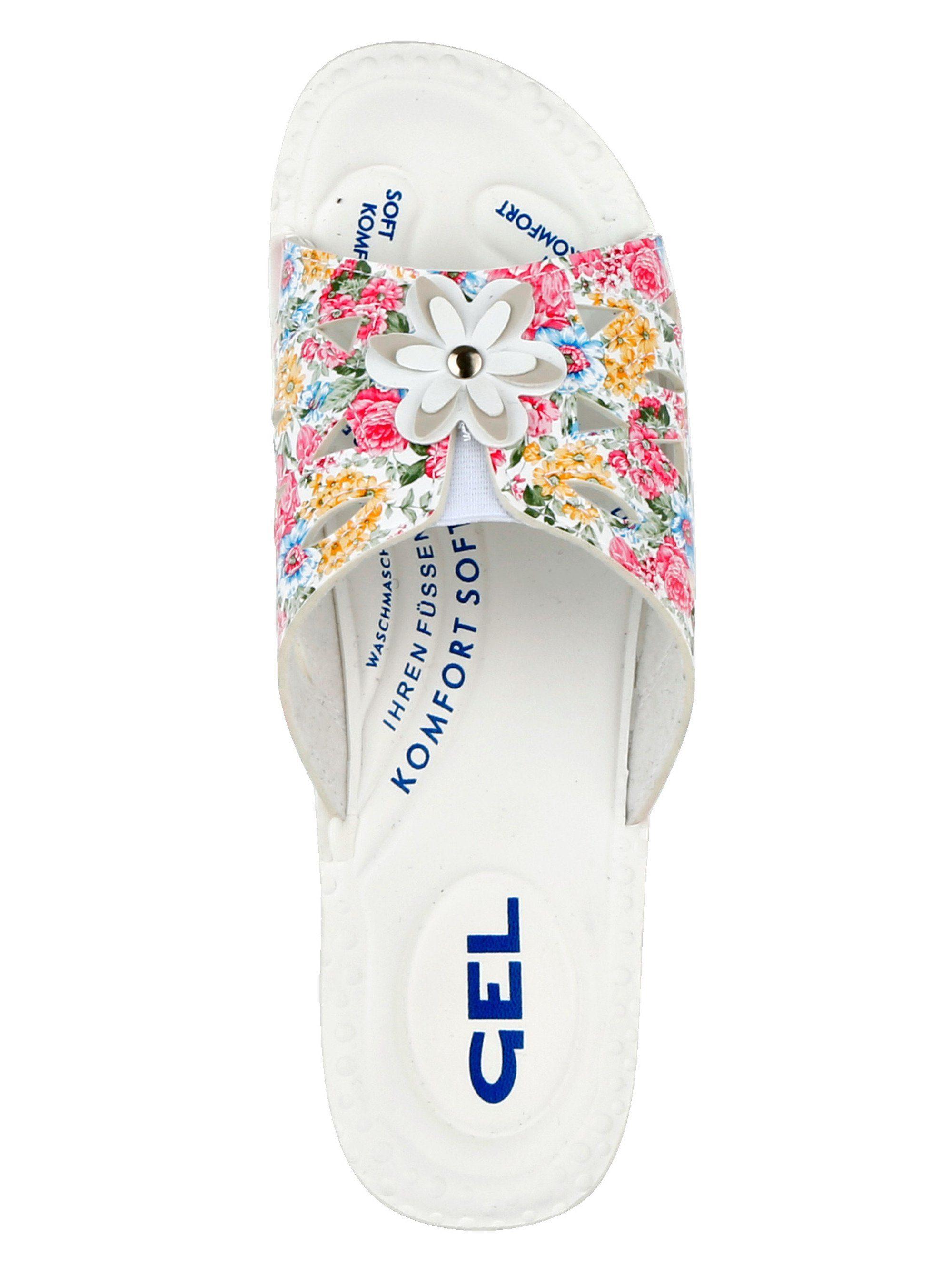 Mae&Mathilda Pantolette waschmaschinenfest kaufen  floral