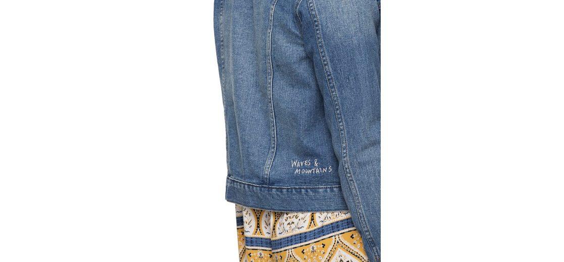 Roxy Jeansjacke Hello Spring Billig Verkauf Outlet-Store Billig Verkauf Bester Großhandel Günstiger Preis Günstig Kaufen Auslassstellen Verkauf Viele Arten Von t8UerC5