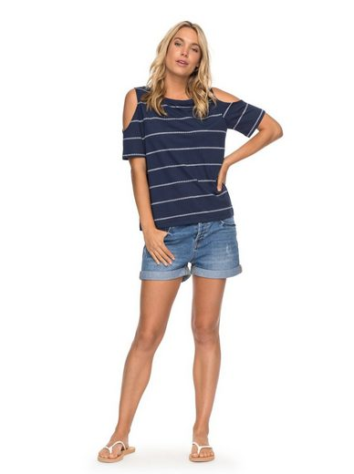 Roxy Schulterfreies T-Shirt Uptown Sun