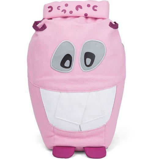 Affenzahn Kinderrucksack Großer Monster Freund Pink Mighty Monster