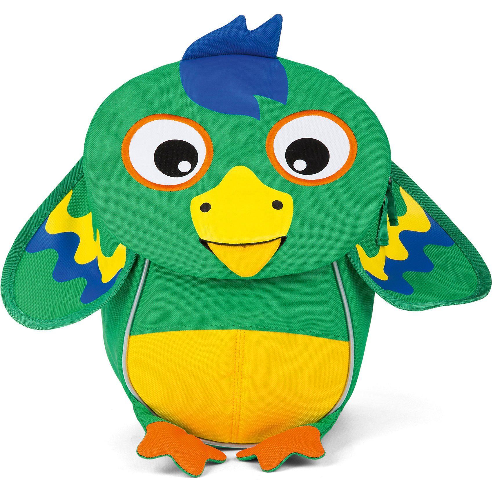 Affenzahn Kinderrucksack Kleine Freunde Piet Papagei