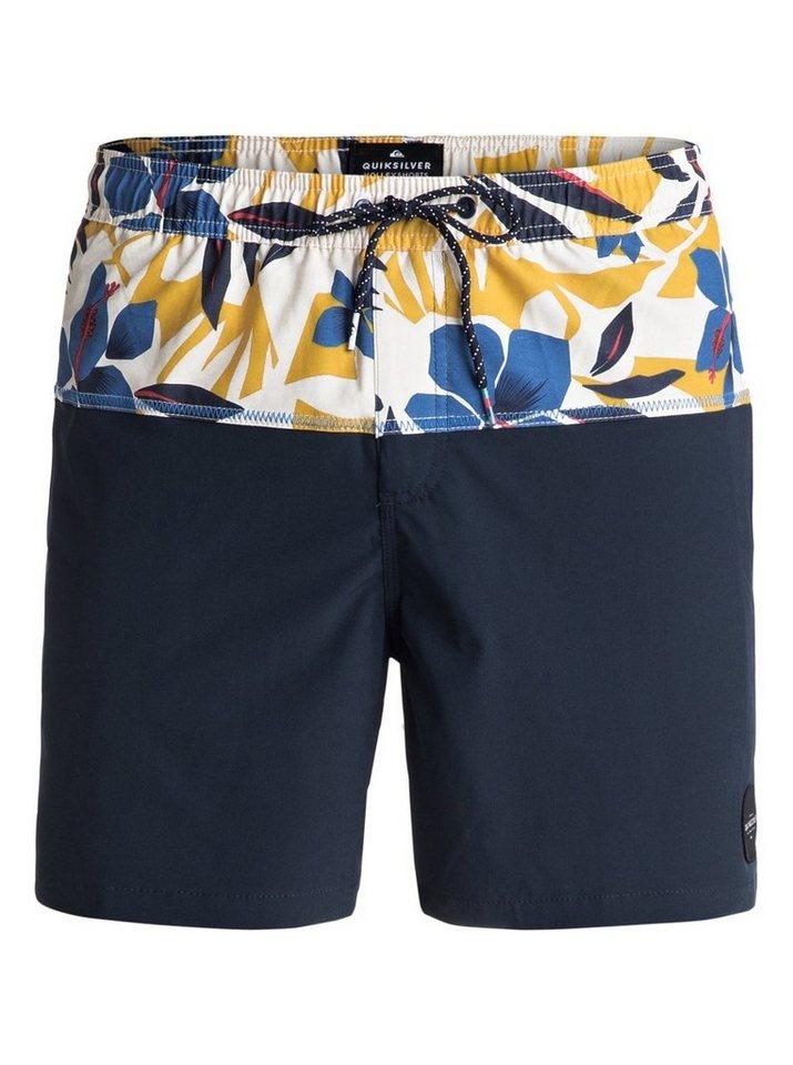 Herren Quiksilver Schwimmshorts Cut Out 17 blau | 03613373480460