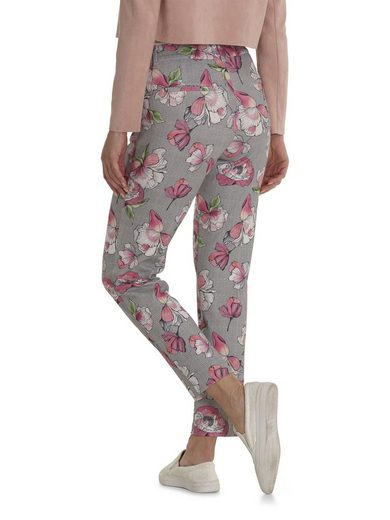Betty&Co Hose mit floralem Allover Muster