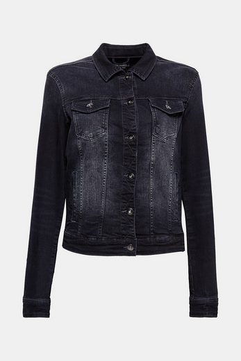 EDC BY ESPRIT Basic-Jeansjacke mit Stretch