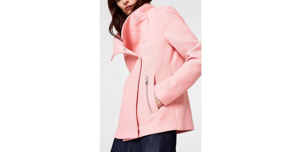 Günstig Kaufen Erschwinglich Ziellinie ESPRIT Kurze Jacke mit variablem Stehkragen 7RTF5R