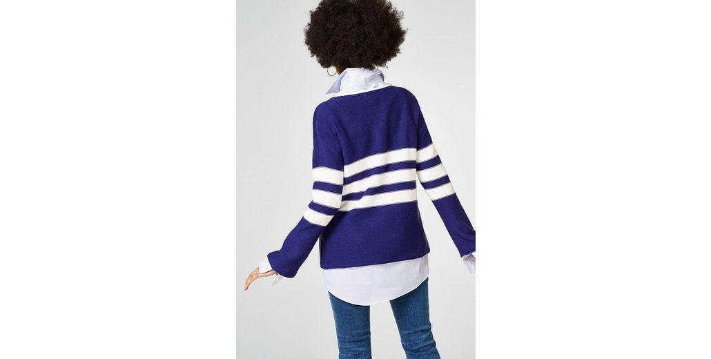 ESPRIT Sportiver Pullover mit Trompetenärmeln Verkauf Billig Dq90Fbc