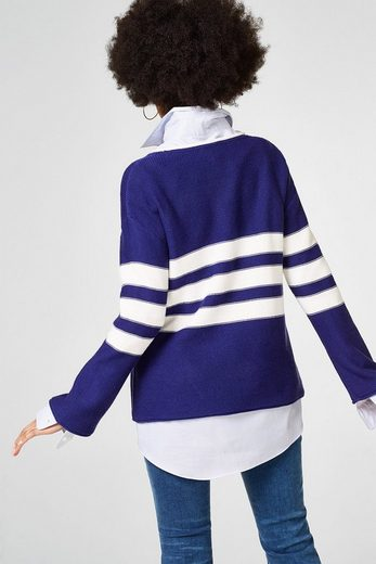 Esprit Sporty Sweater With Trumpet Sleeves