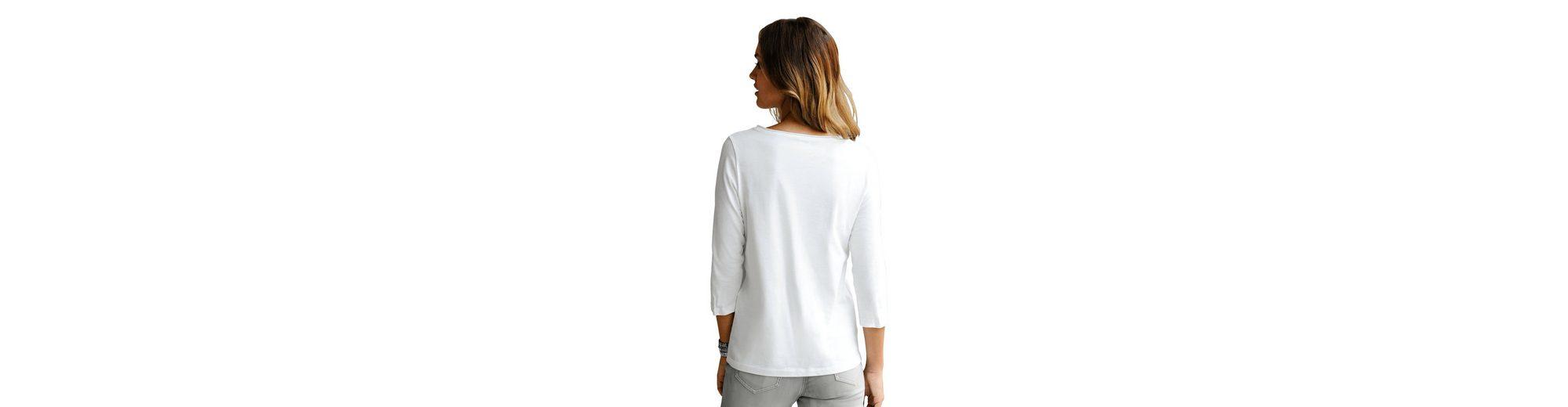 Alba Moda Shirt mit Sternedruck Billige Sneakernews PyTqfBFd