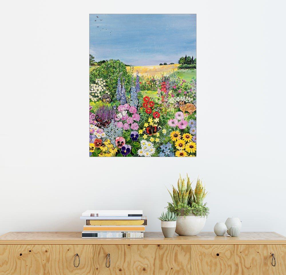Posterlounge Wandbild - Hilary Jones »Summer from The Four Seasons« | Dekoration > Bilder und Rahmen > Bilder | Holz | Posterlounge