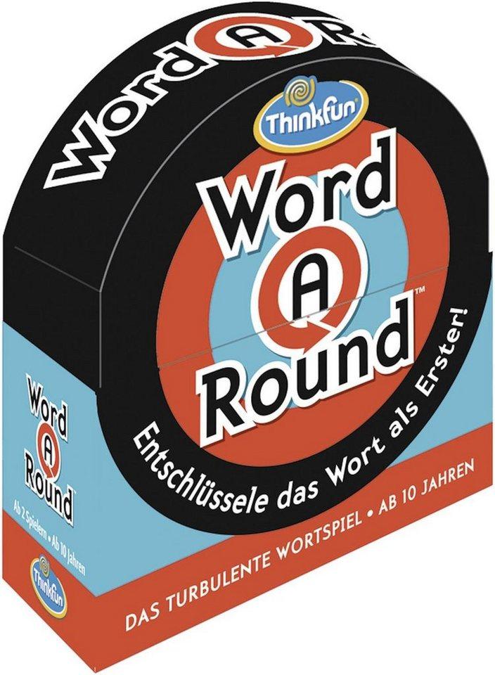 Thinkfun® Kartenspiel, »Word A Round™« - Preisvergleich