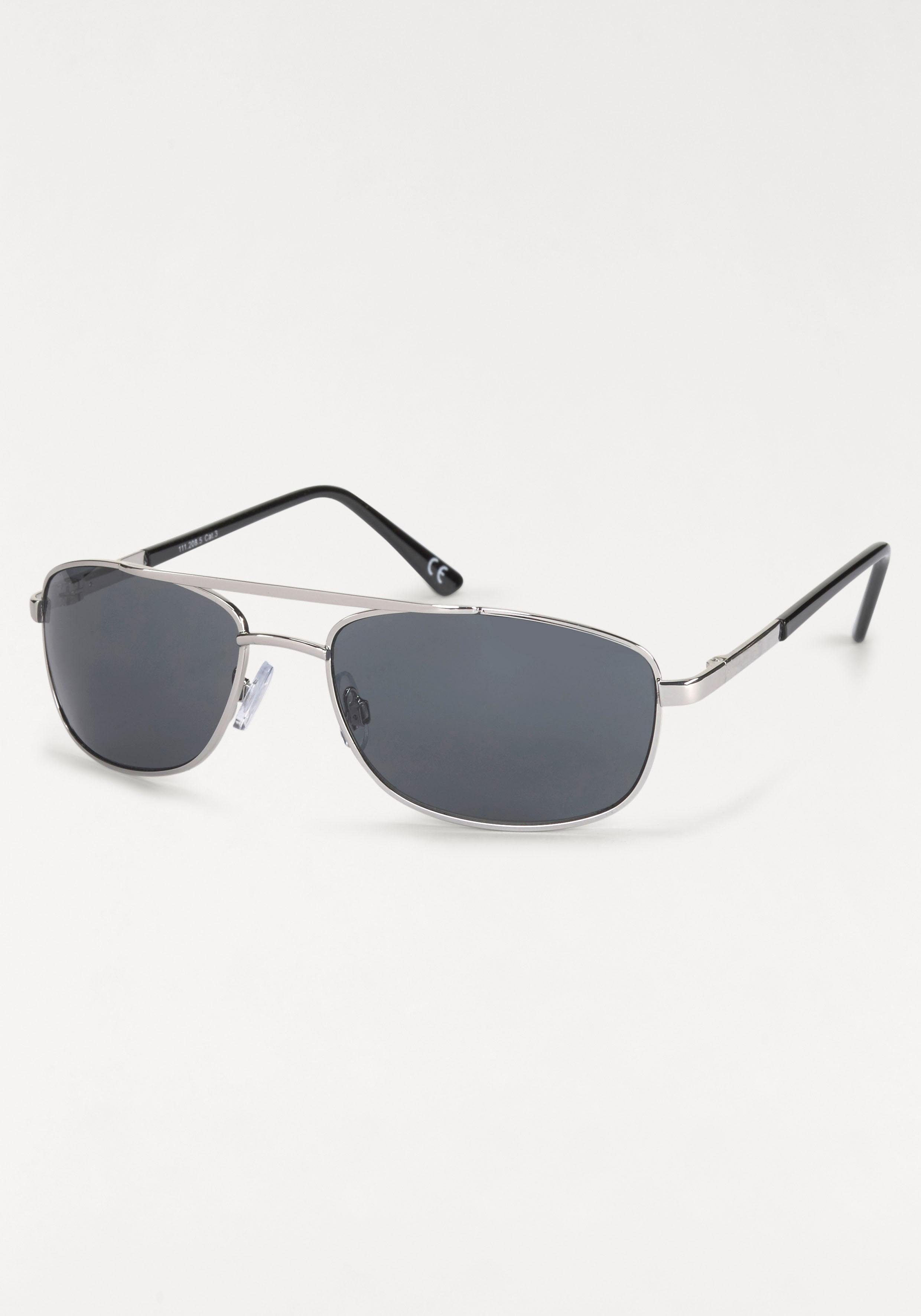 ROUTE 66 Feel the Freedom Eyewear Sonnenbrille, im modischen Design, grau, grau