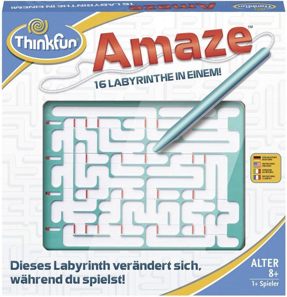 Thinkfun® Logikspiel, »Amaze™« - Preisvergleich
