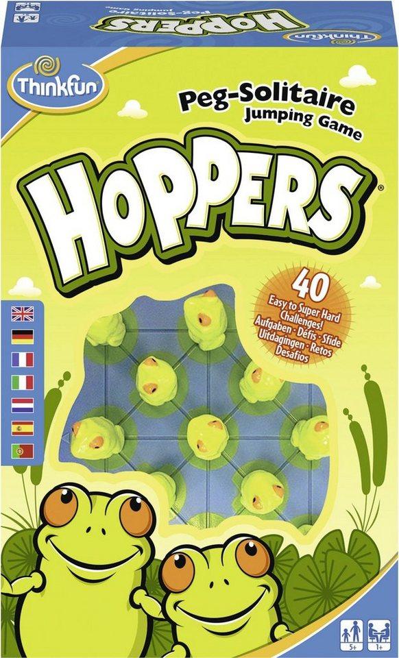 Thinkfun® Logikspiel, »Hoppers®« - Preisvergleich