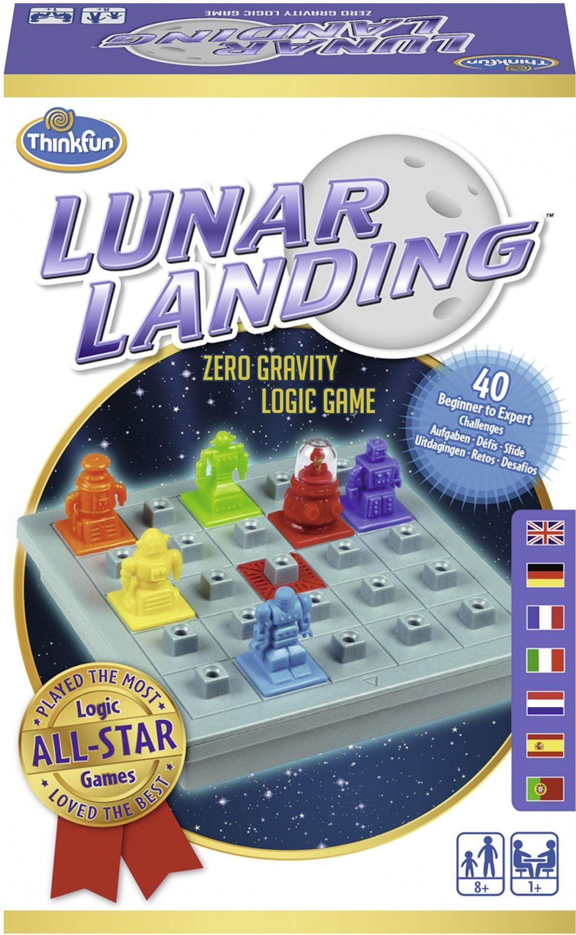 Thinkfun® Logikspiel, »Lunar Landing™«