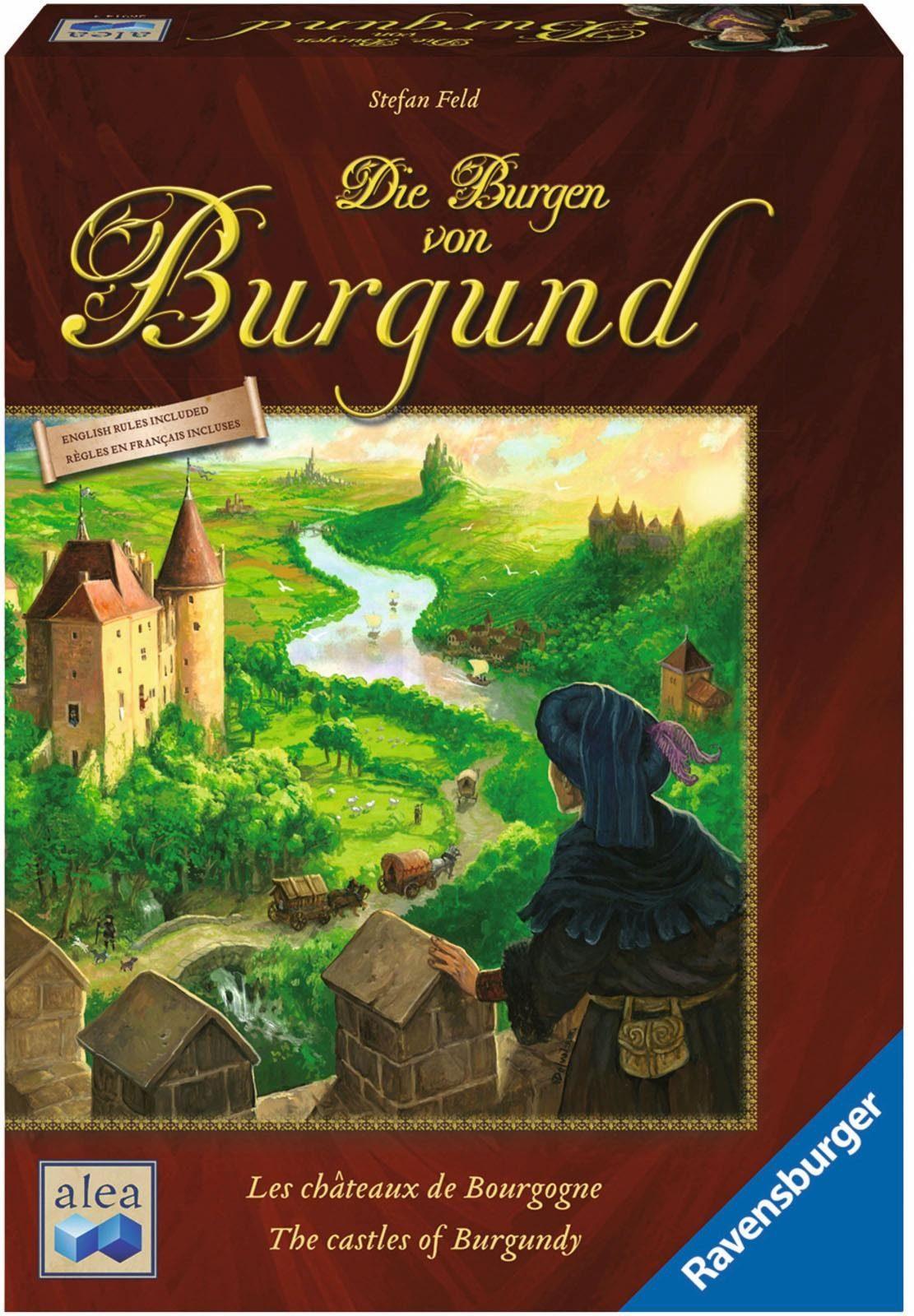 Ravensburger Strategiespiel, »alea, Die Burgen von Burgund«