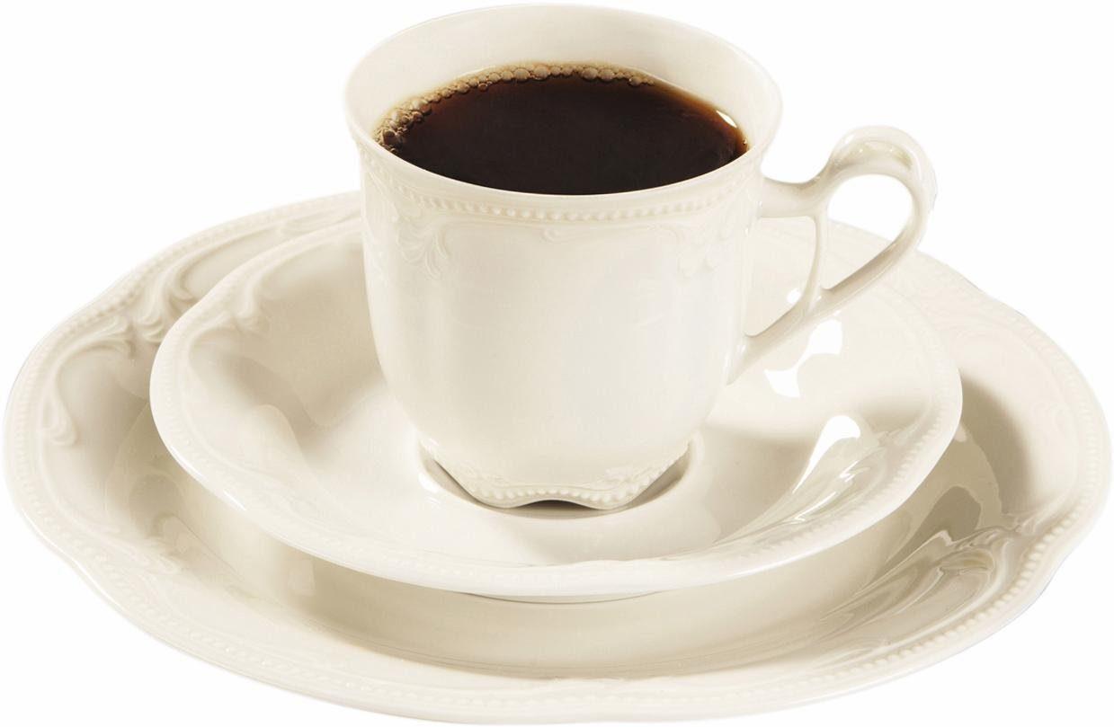 Seltmann Weiden Kaffeeservice, Porzellan, 18 Teile, »Rubin«