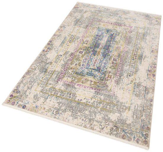Teppich »Colorful 24022«, merinos, rechteckig, Höhe 7 mm