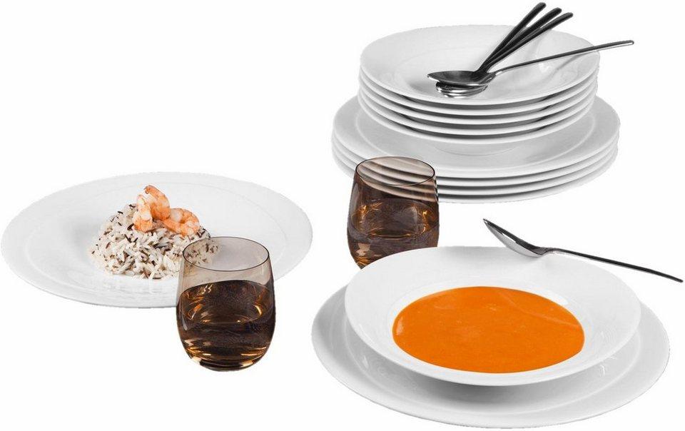 seltmann weiden tafelservice trio 12 tlg porzellan. Black Bedroom Furniture Sets. Home Design Ideas
