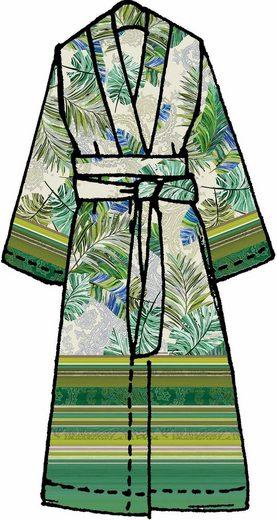 Kimono »Levante«, Bassetti, mit Palmenblättern