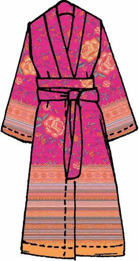 Rosen motiven Kimono motiven Fuchsia Kimono »porticciolo«BassettiMit »porticciolo«BassettiMit Rosen Kimono Rosen motiven Fuchsia »porticciolo«BassettiMit fgY67by