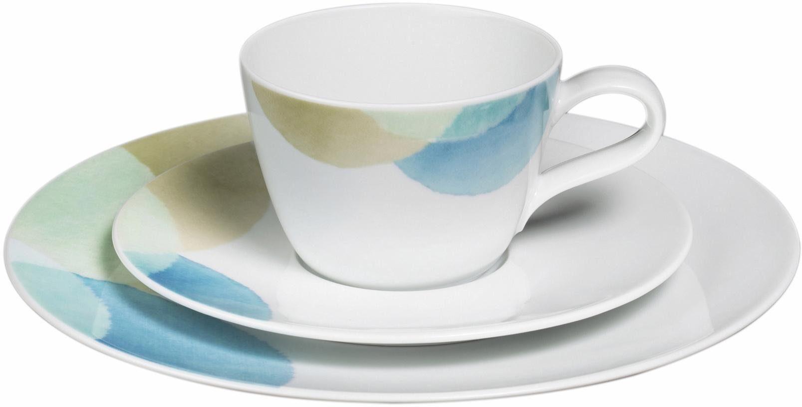 Seltmann Weiden Kaffeeservice, Porzellan, 18 Teile, »Life Senja«
