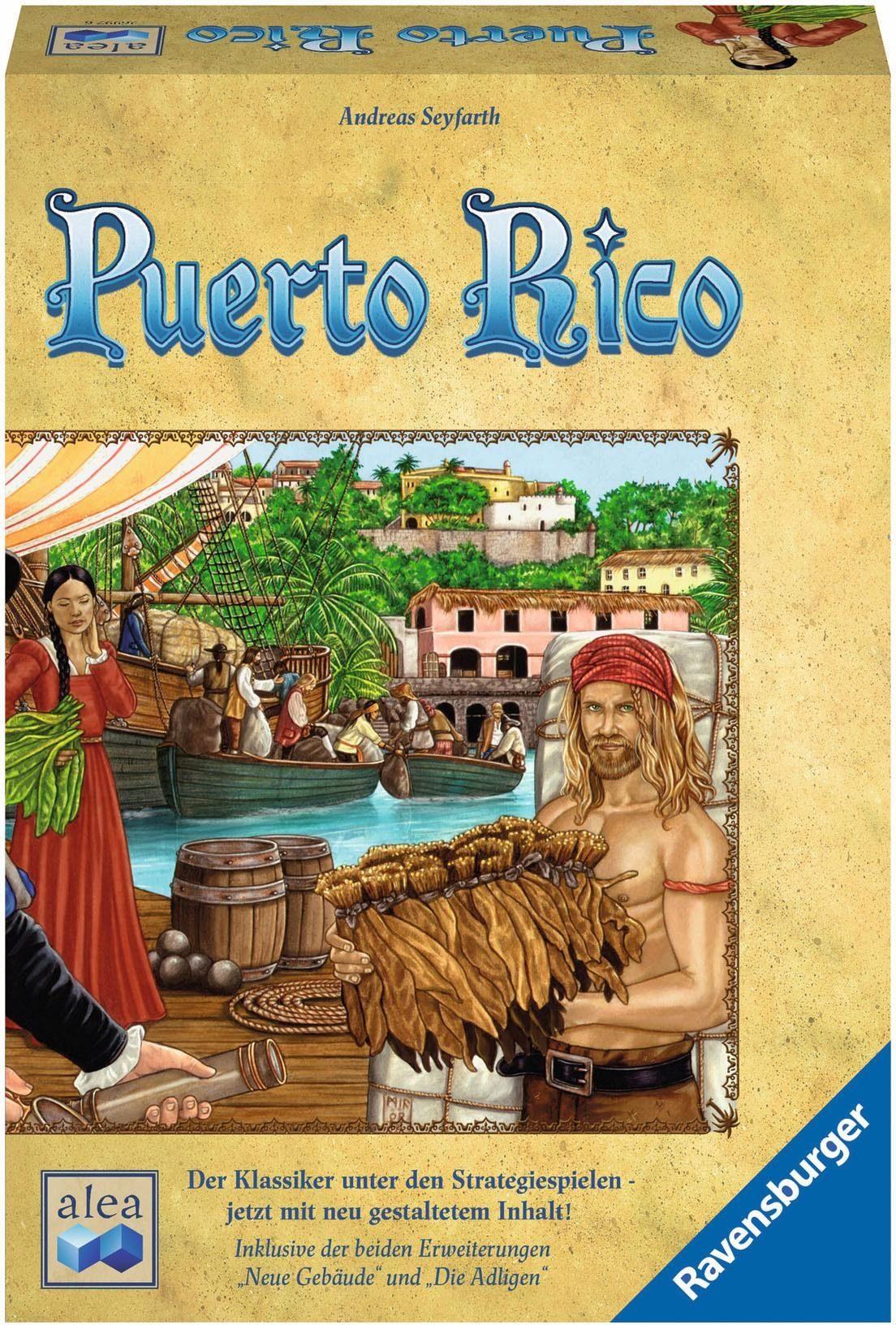 Ravensburger Strategiespiel, »alea, Puerto Rico«
